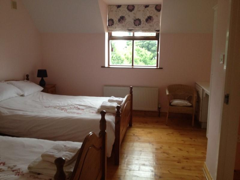 Double and Single Bedroom